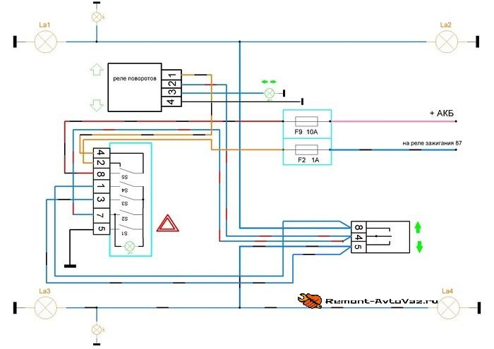Проводка на автомобилях ока ваз-1111, 11113: ее замена и схема электрооборудования