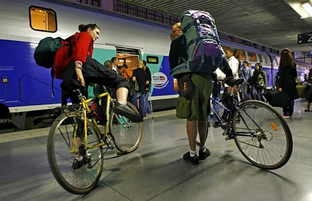 Как перевезти велосипед в автобусе