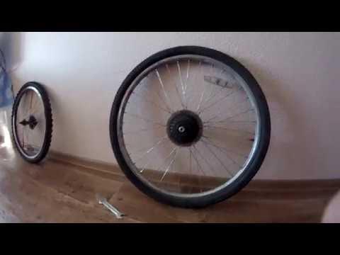 Как убрать прокруты на велосипеде